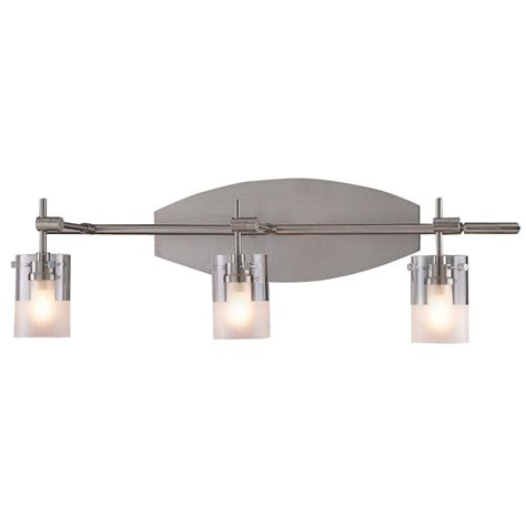 Possini Bathroom Vanity Lighting Three Light Bathroom Vanity Light P5013 084 Destination Lighting