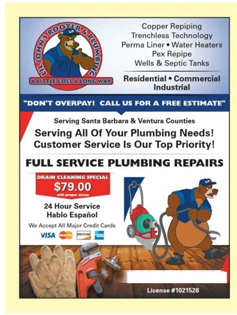 Plumbing Ventura Ca by Lil S Rooter Plumbing Llc In Ventura Ca 93003