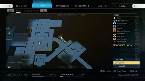 Prey Weapon Upgrade Kit Fabrication Plan Location Building Upgrade Plans Wow