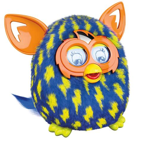 Amazon com furby lightning bolts boom plush toy toys amp games