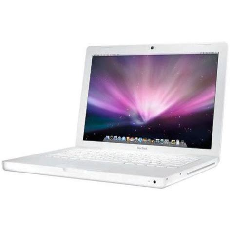Laptop Macbook White apple macbook 13 inch laptop intel 2 duo 2 1 ghz 1