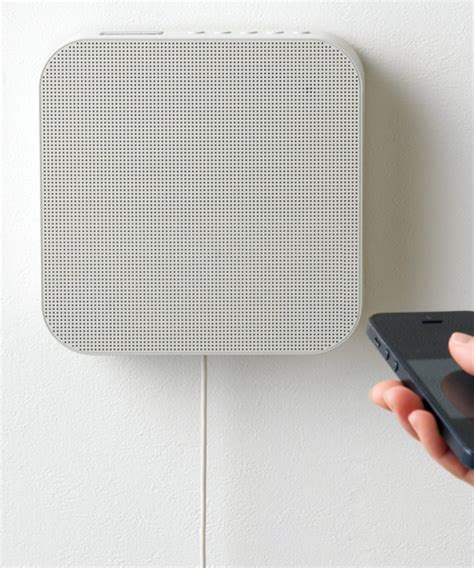 minimalist speakers muji s new bluetooth speaker tugs at the minimalist