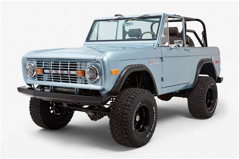 ford bronco 1971 ford bronco by ford broncos gear patrol