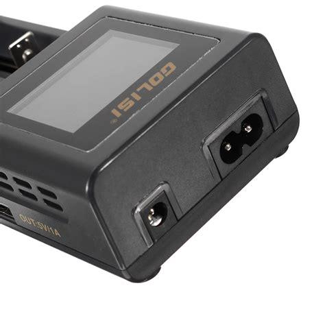 Adaptor Charger Li Ion Smart Charger 2 1a Tc golisi s2 hd lcd display smart charger for li ion ni cd ni