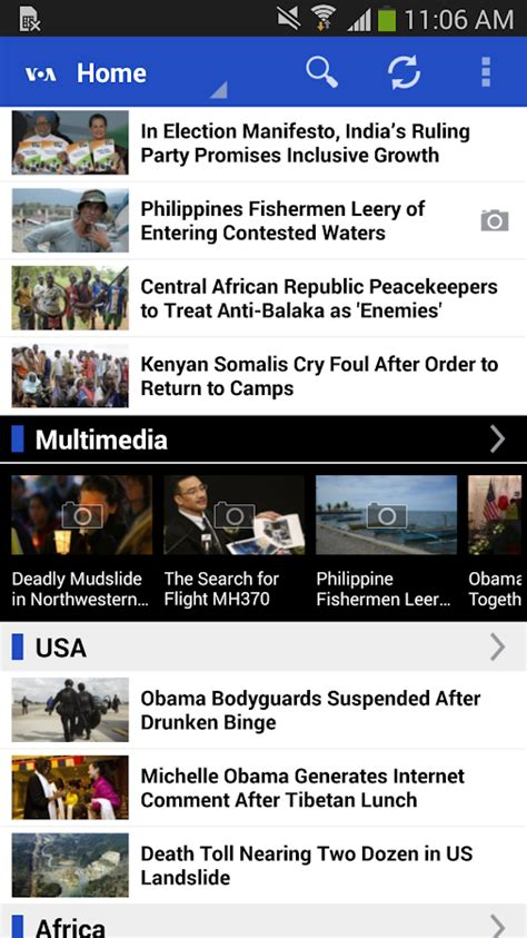voa news voa news screenshot