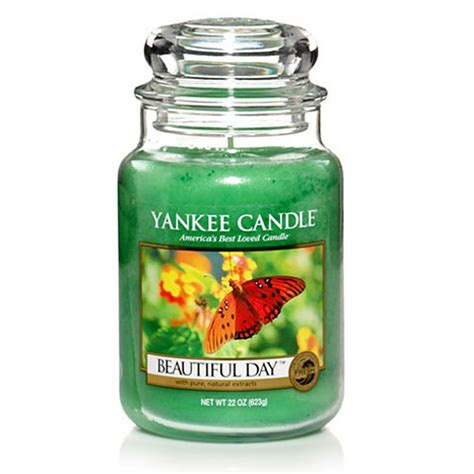candele yankee yankee candle beautiful day buy yankee candle beautiful