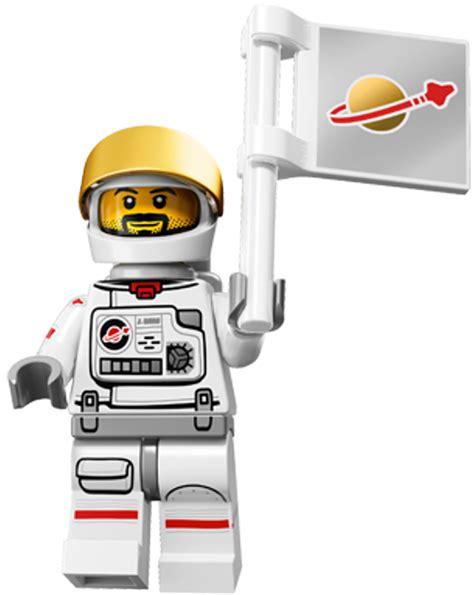 Lego Astronot lego minifigures series 15 astronaut classic spaceman suit space set ebay