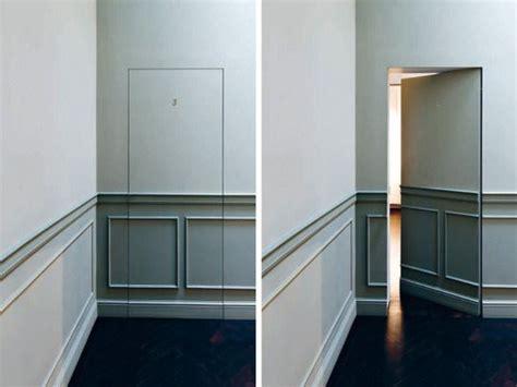 secret spaces doors in paneled walls