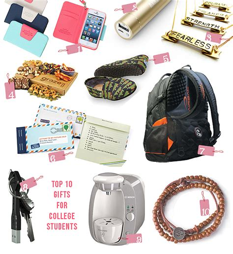 Giveaways College Students - top 10 thursdays great gifts for college students