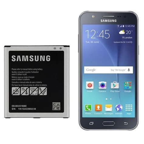 Hippo Batere Samsung J3 Samsung J5 Battery Power 3450 Mah batterie d origine eb bg531bbe pour samsung galaxy j5