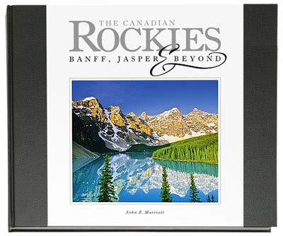 new canadian rockies coffee table photography book