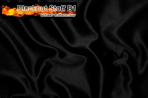 blackout stoff blackout stoff b1 schwarz