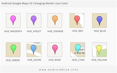 maps marker color android maps v2 tutorial