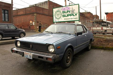 datsun 310 hatchback parked cars 1979 datsun 310gx