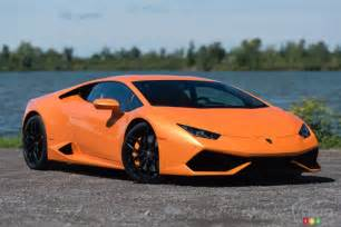 Lamborghini Huracan Orange 2015 Lamborghini Hurac 225 N Lp610 4 Review Car Reviews