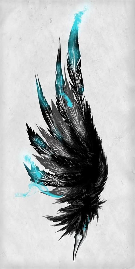 feather tattoo facing up or down broken wings chapter 2 the boy awesome wings and style