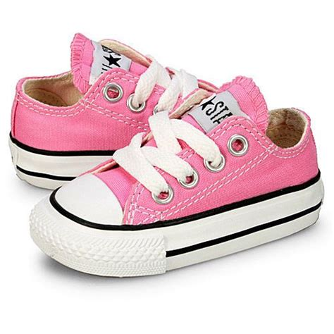 toddler infant pretty in pink converse chuck