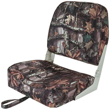 duck hunting boat seats kill shot folding camo boat seat fishing camouflage duck