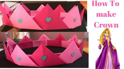 How To Make A Paper Princess Tiara - how to make paper princess crown how to make paper crown