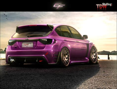 purple subaru impreza subaru impreza love the colour wrx sti pinterest