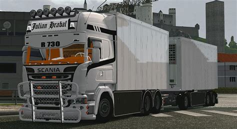 American Home Interiors by Scania Streamline Tandem Ets2 Mods
