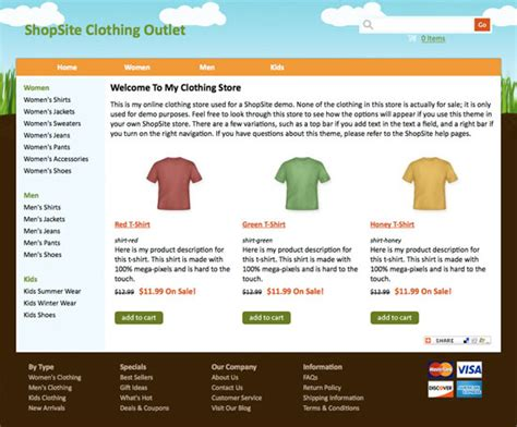 shopsite built in roller template