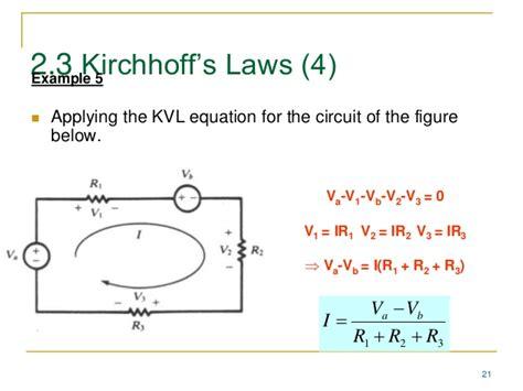 capacitors kirchoff s analogue electronics lec 2