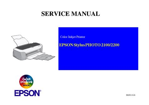 Epson Stylus Photo R1800 R2400 Sm Service Manual Free