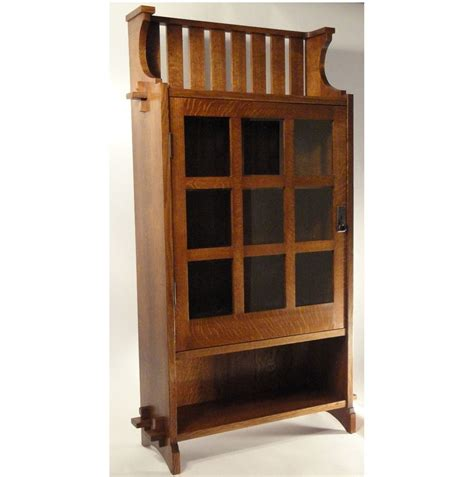 custom gustav stickley model 512 reproduction bookcase by