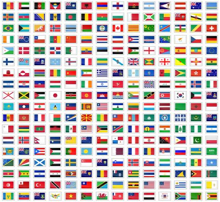 flags of the world website flag icons