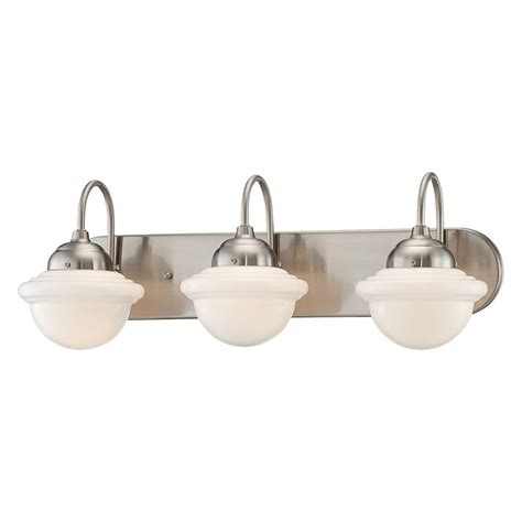 industrial bathroom light shop millennium lighting 3 light neo industrial satin