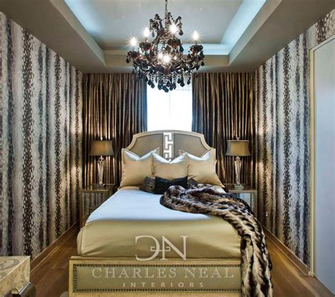 Hollywood Bedroom luxurious bedroom design in a small space charles neal