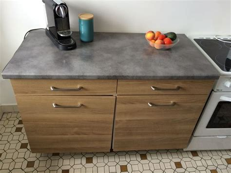 meuble avec plan de travail cuisine cuisine plan de travail clasf