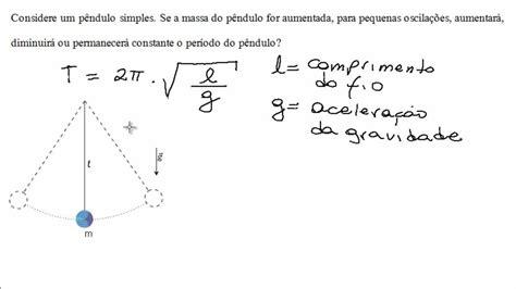 oscilacion fisica formulas f 237 sica resolvida v 237 deo aula lista de mhs quest 227 o