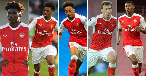 arsenal youngsters five young arsenal players ready to break into the first