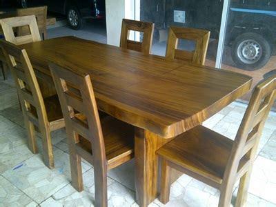Meja Makan Kayu Trembesi harga meja makan kayu trembesi meubel ukir jepara