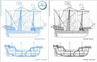 pirate ship floor plan 0one s blueprints pirate ship 0one 0one s