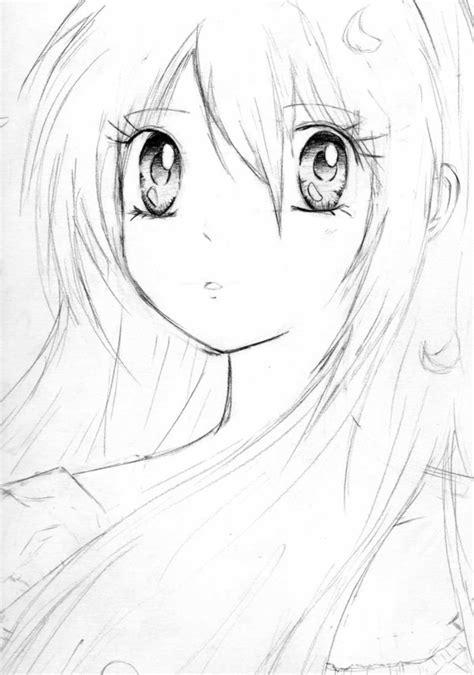 imagenes para dibujar anime dibujos anime