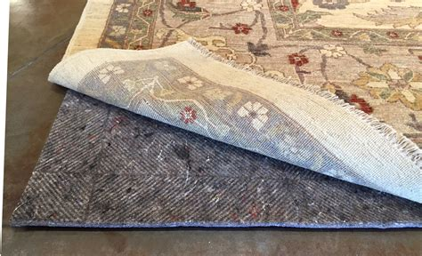rug on carpet pad durahold rug pad roselawnlutheran