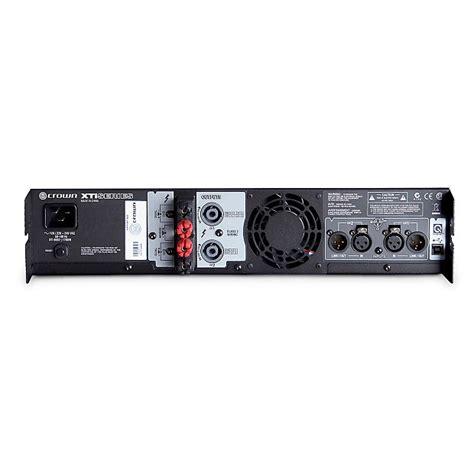 Power Lifier Dbx Crown Xti 6002 Power Lifier Dbx Driverack Pa2 Loudspeaker Reverb