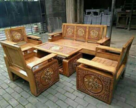 Harga Clear Gloss Untuk Kayu kursi tamu minimalis kayu jati harga murah annisa mebel