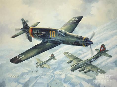 dornier do335 pfeil arrow painting by randy green