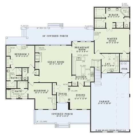 southern style floor plans country style house plans 2755 square foot home 2