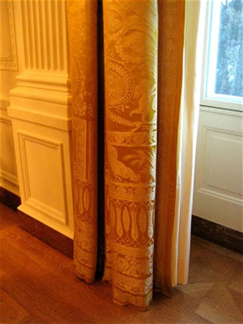 white house east room curtains architect design white house east room