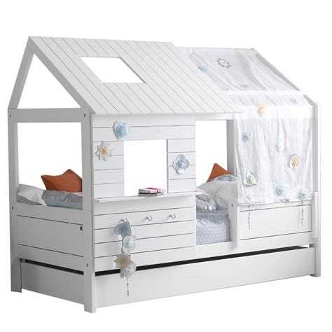 childrens bed silversparkle low hut children s bed by cuckooland