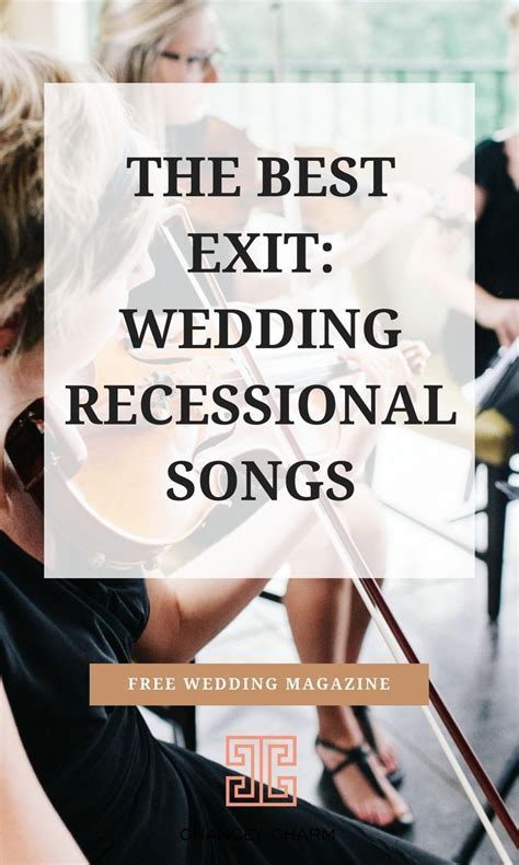 The Best Exit: Wedding Recessional Songs   Charlotte