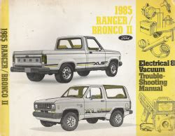 online service manuals 1985 ford bronco ii electronic toll collection 1985 ford ranger bronco ii electrical vacuum trouble shooting manual evtm