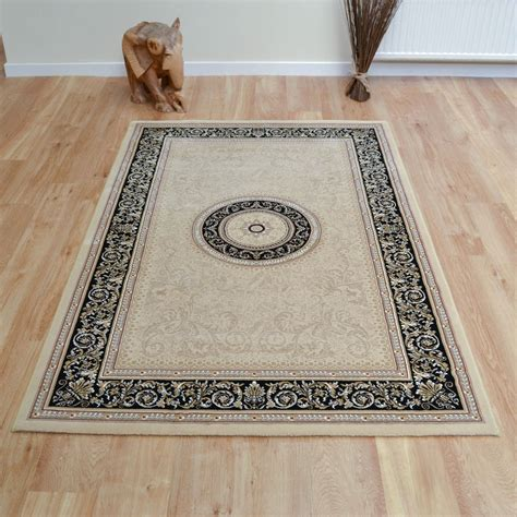 the rug co noble rugs 6572 192 in black free uk delivery the rug seller