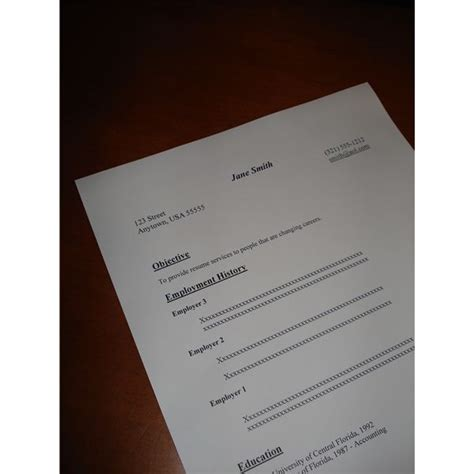 sample resume accounting job free internship resume sample with instructions for
