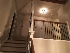New Banister Cost Wrought Iron Spindles On Stairs Houston How Much New
